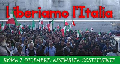 LIBERIAMO L'ITALIA - VERSO L'ASSEMBLEA COSTITUENTE