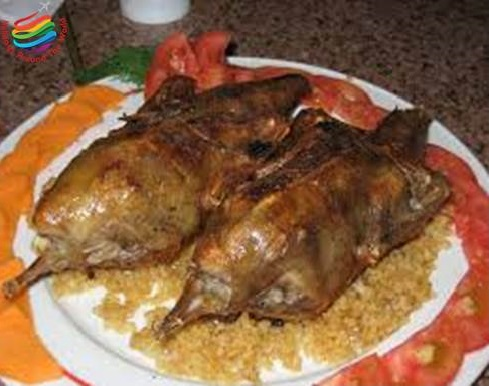 Stuffed Hamam - Egyptian Cuisine