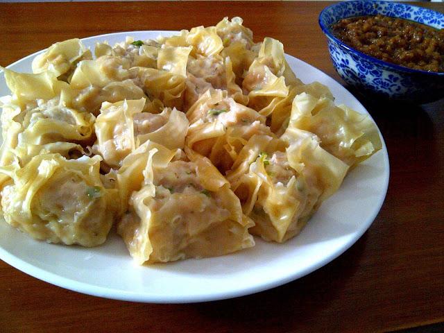 Resep Siomay Ayam Keju