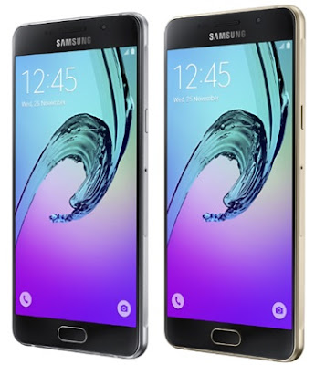 Samsung Galaxy A5 2016 also available in black and gold colors.