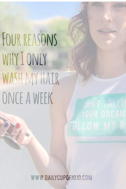 Hair care routine   wash hair once a week   get thicker hair   how to get healthier hair
