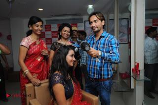 Telugu Actress Bhanu Sri Stills in Lehenga Choli at Anoo's Salon Launch at Ongole  0007.jpg