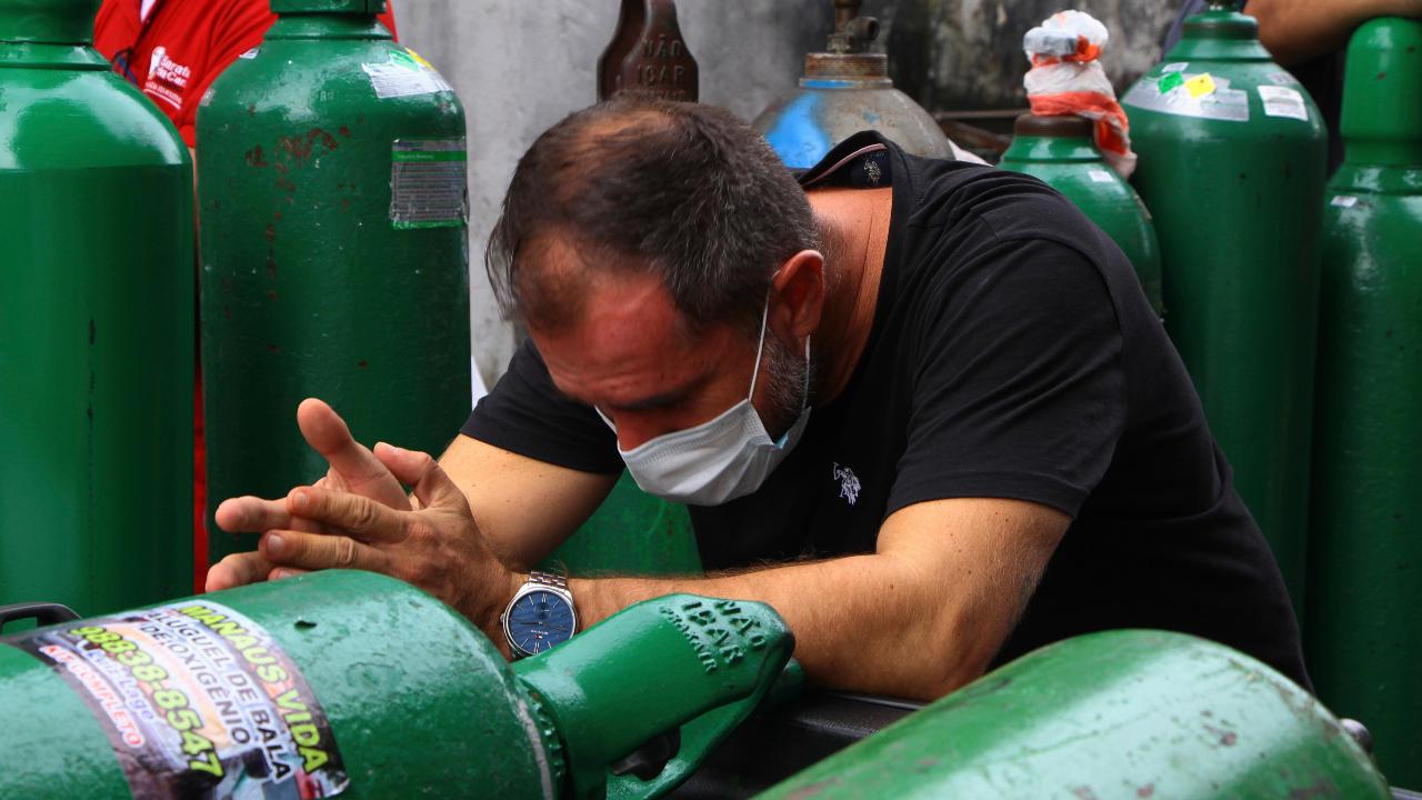 Se acaba el oxigeno en Colombia y ahora sí autorizan masivas importaciones de oxígeno