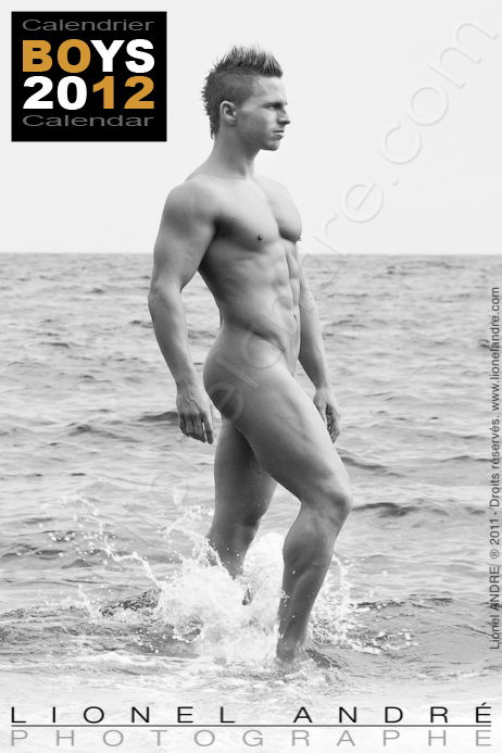Matt • 'BOYS 2012' Calendar by Lionel André