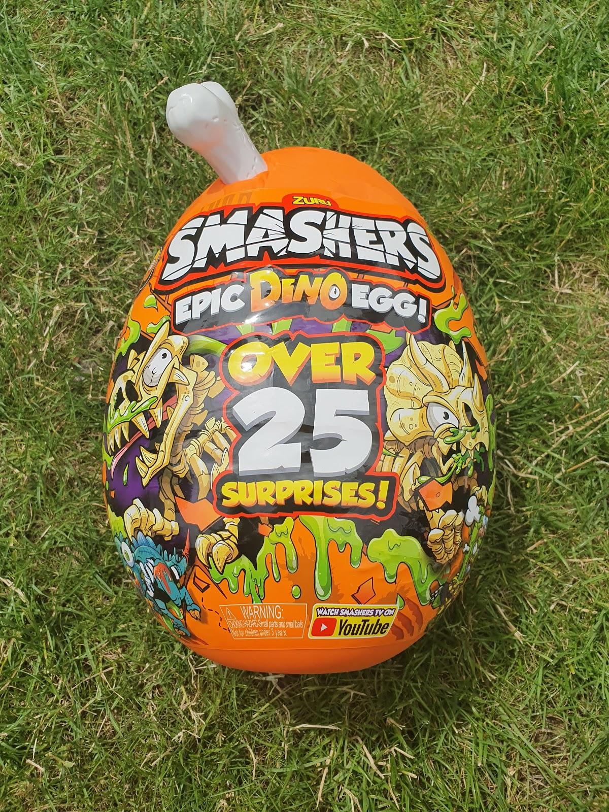 Zuru Smashers EpIc Dino Egg Over 25 Surprises New Factory Sealed 2019 Series 3