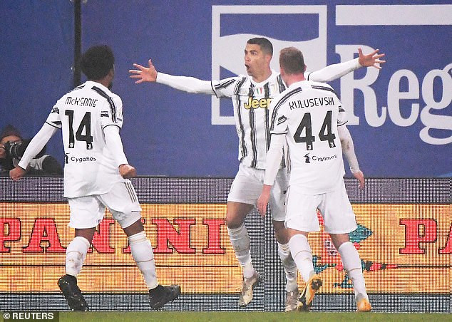 Cristiano Ronaldo becomes all-time leading goalscorer in footballing history