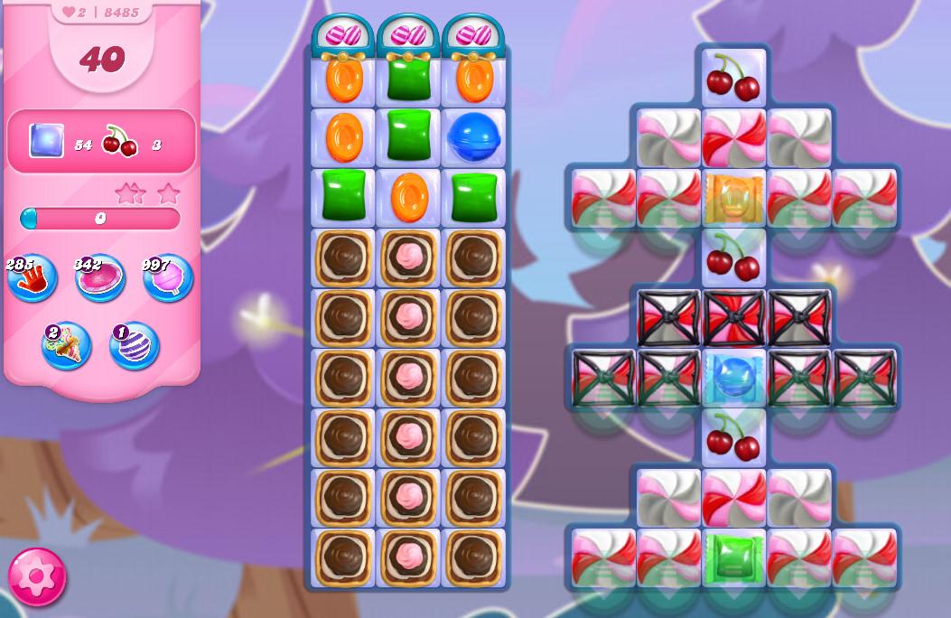 Candy Crush Saga level 8485