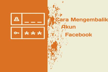 Cara Mengembalikan Akun Facebook : Email Dan Sandi Diganti