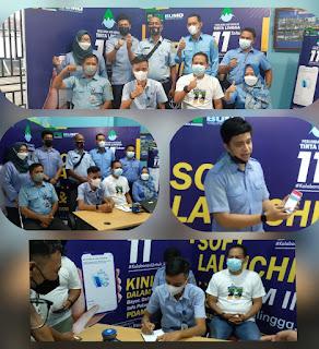 PDAM Tirta Lingga Soft Launching Aplikasi Berbasis Online
