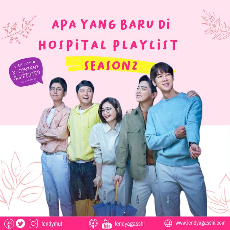 Apa yang baru dari Hospital Playlist Season 2