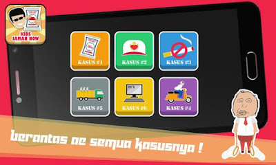 Download Game Kids Jaman Now MOD APK v1.1.1 for Android Original Version Terbaru 2017 Gratis