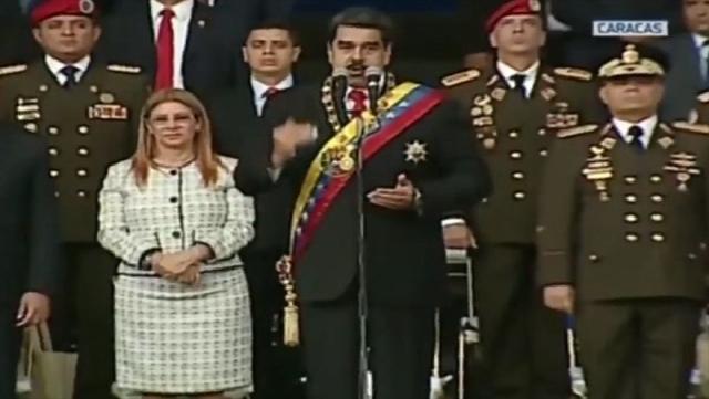 Video: Confirman atentado fallido contra Nicolás Maduro en Venezuela