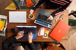 ASUS Vivobook Ultra A412DA Laptop Tipis Warnain Hidupmu