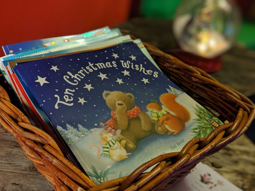 Christmas & Santa at Whitehouse Farm - A Review  - Christmas books