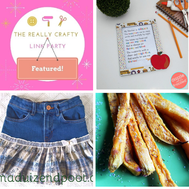 The Really Crafty Link Party #169 featured posts!