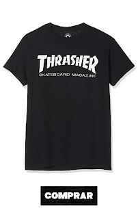 Remera Thrasher Skate Mag