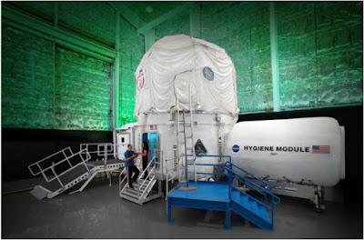 Simulación del entorno de pequeña nave espacial que visitará Marte