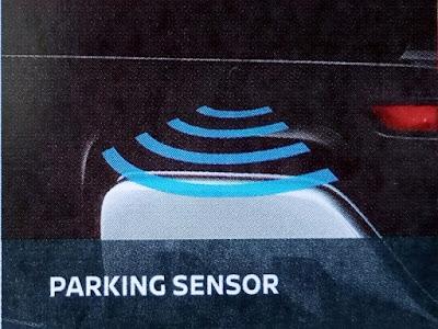 Gambar Fitur parking sensor Nissan Livina