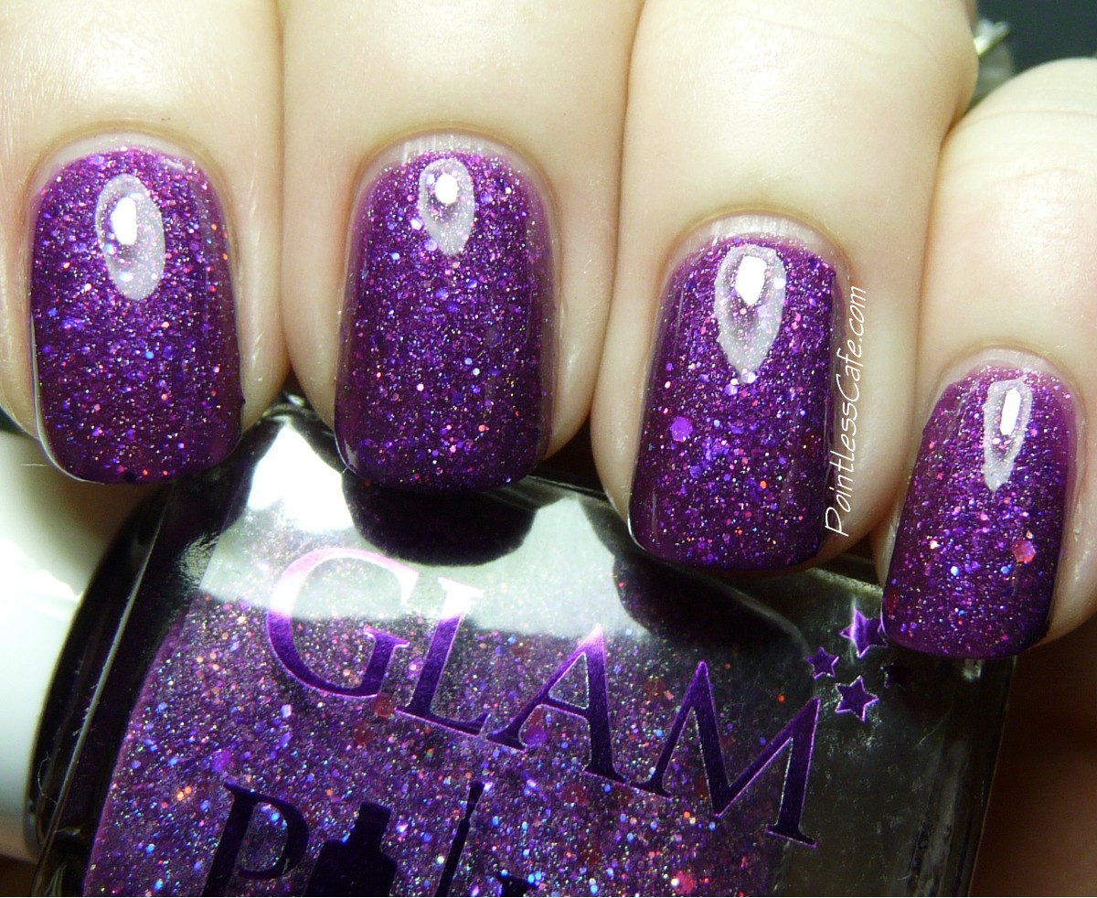 Glam Polish Maleficent Swatches And Review Pointless Cafe