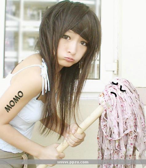 Peinados Kawaii Pelo Corto Sin Fleco Peinado
