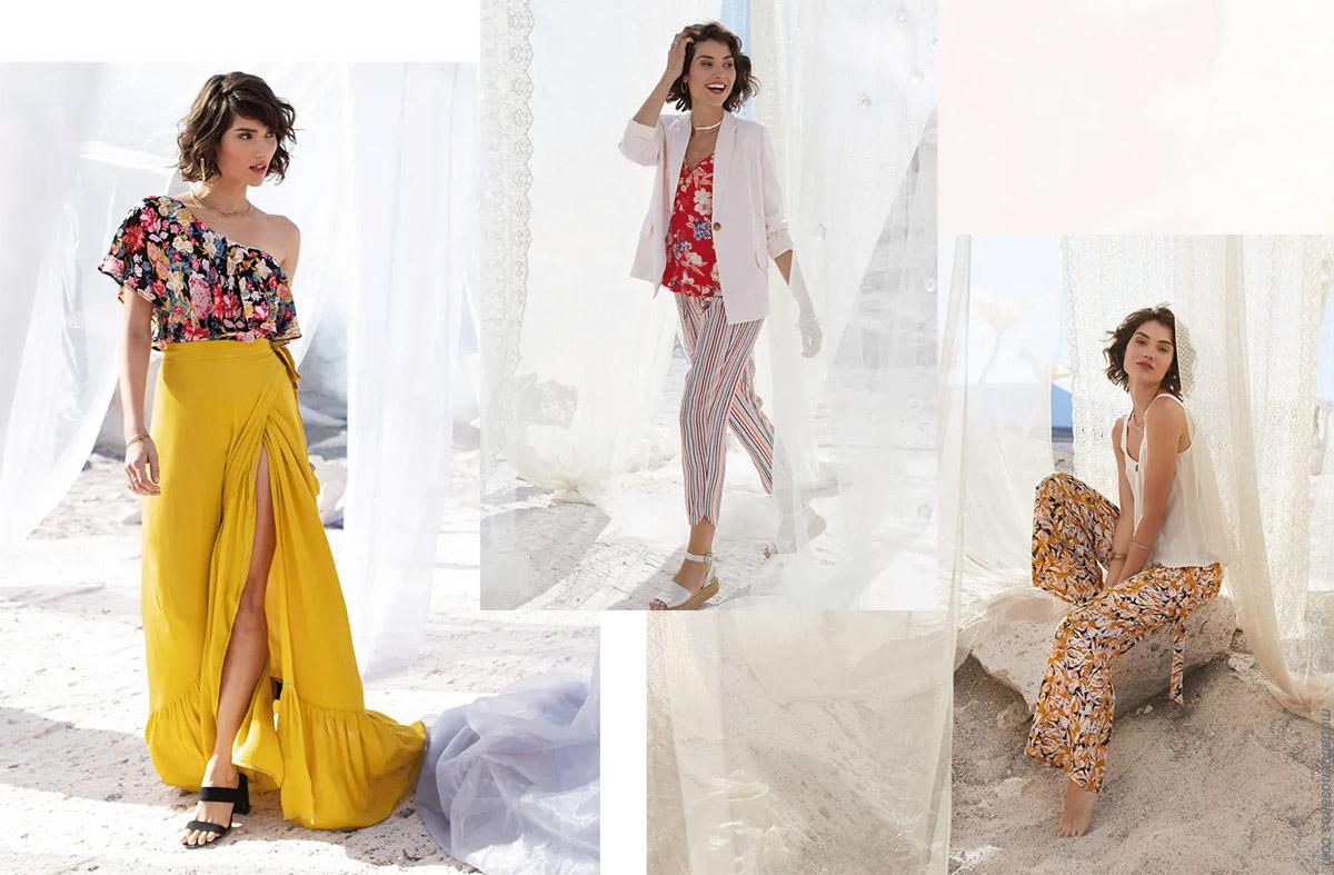 Faldas primavera verano 2020 moda mujer. Blusas, pantalones capris, sacos livianos de verano 2020.