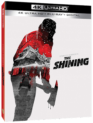 Cover art for Warner Bros.' 4K Ultra HD Blu-ray of Stanley Kubrick's THE SHINING!