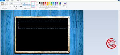 2. Sebelum mulai memasukkan teks, silakan ubah warna teks atau font pada Color 1