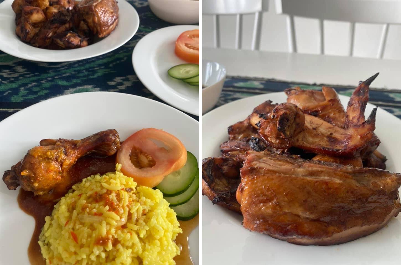 Resepi Dan Cara Masak Nasi Ayam Mudah Menggunakan Air Fryer