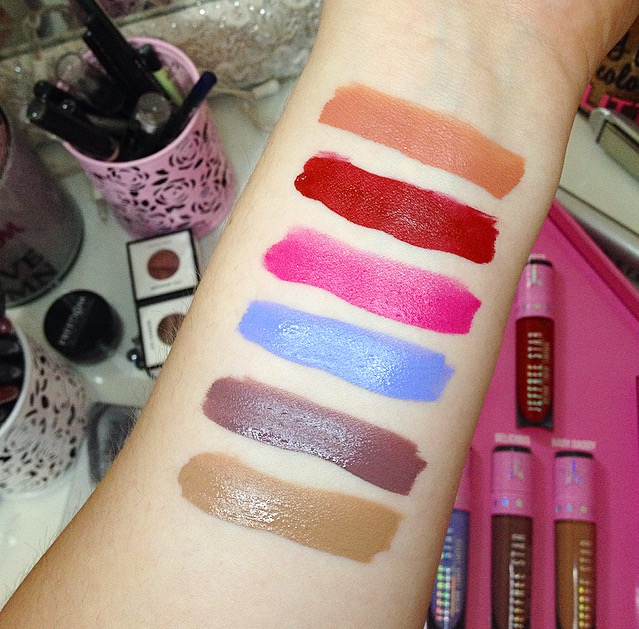 Velour Liquid Lipstick Family Collection by Jeffree Star #4