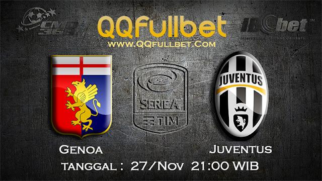 PREDIKSIBOLA - Prediksi Taruhan Bola Genoa VS Juventus 27 November 2016 (SERIE A Italia)