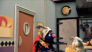 Super Grover 2.0 helps a mouse to get its cheese in a rodent restaurant, Super Grover 2.0 Wedge End is Up, Sesame Street Episode 4407 Still Life With Cookie season 44
