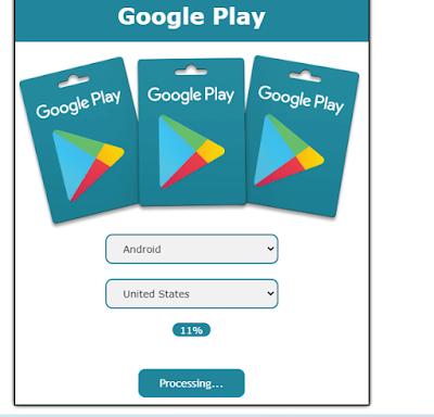 استخراج بطاقات جوجل بلاي مجانا 2020