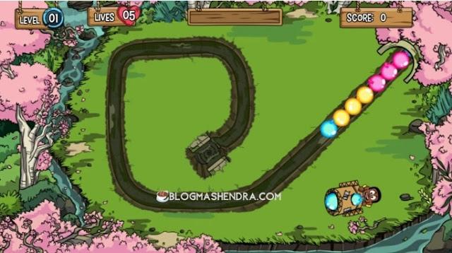 Main Game Zuma Secara Online di Plays.org