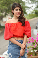 Rhea Chakraborty in Red Crop Top and Denim Shorts Spicy Pics ~  Exclusive 095.JPG