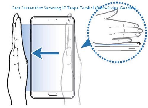 Cara Screenshot Samsung J7 Tanpa Tombol