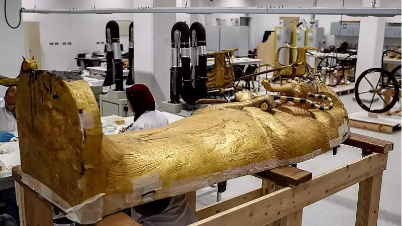 Outermost Coffin of Tutankhamun