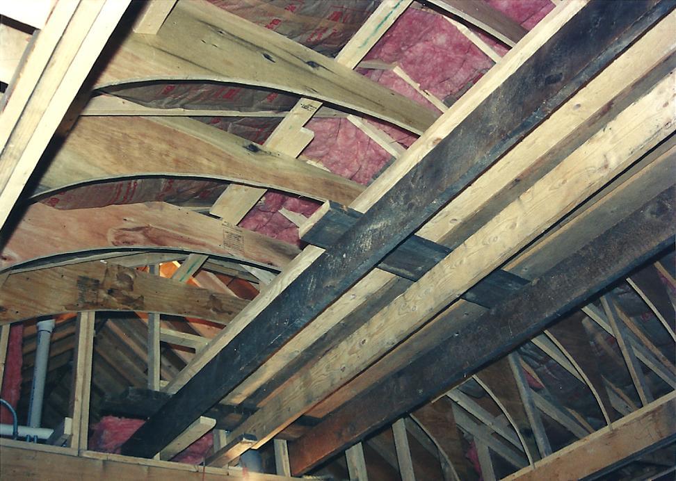One Man's Hands: 9: Building the Barrel Vault Ceiling
