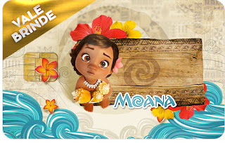 Moana Baby Visa Invitation.