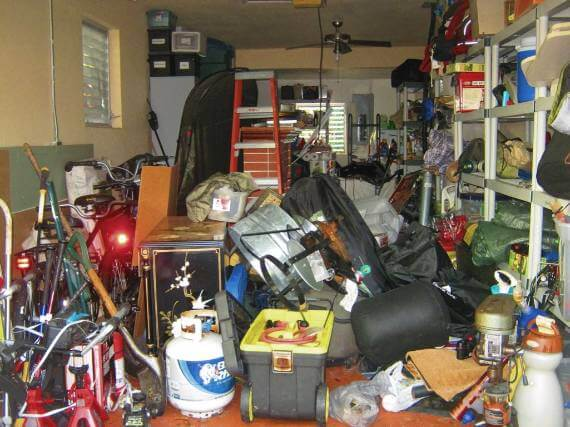 Can't start van life till all this junk in this junky garage is trashed!