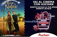 Logo Vai al cinema con Auchan : vinci 8500 coppie di biglietti