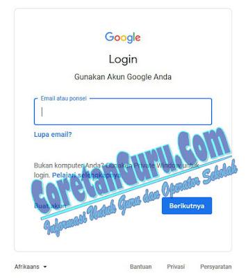 Cara Membuat Formulir Pendaftaran PPDB Online