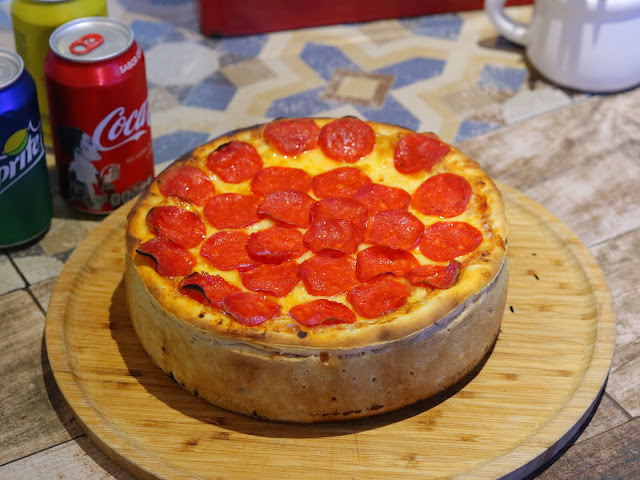 La perfección hecha pizza: ¡Pizza Chicago! 🤤🍕