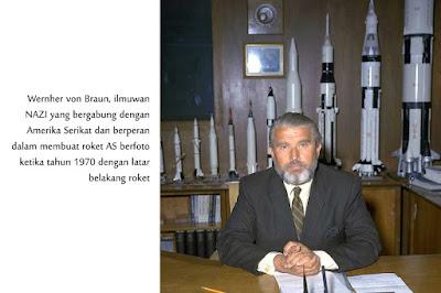 Wernher von Braun, ilmuwan nazi, roket amerika, satelit explorer 1