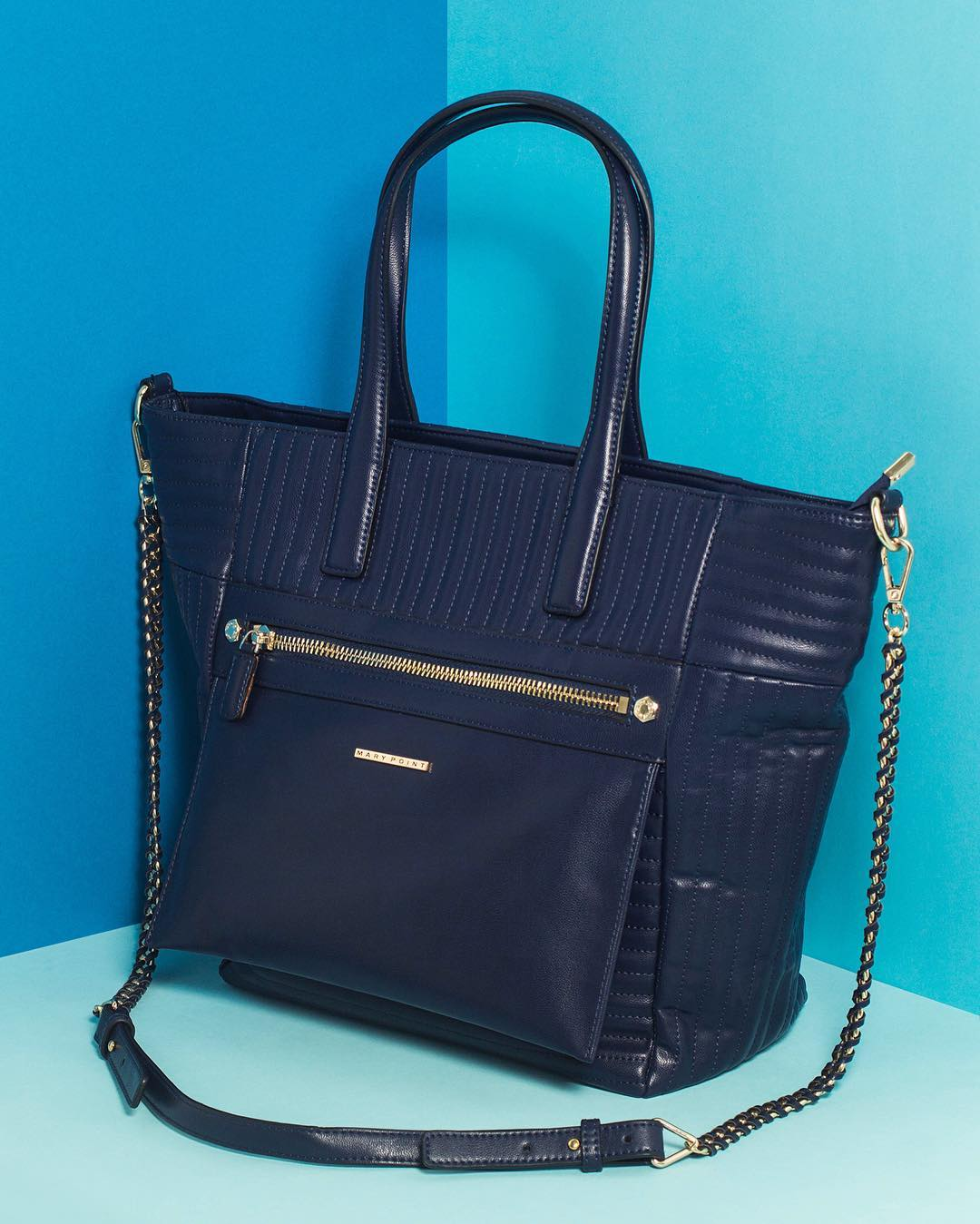 Harper vegan handbag.