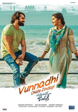 Vunnadhi Okate Zindagi 2017 Hindi Dubbed Movie Download HDRip 720p