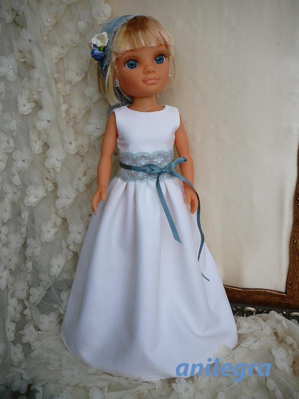 Como hacer vestido de novia para nancy
