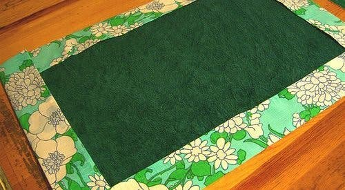 A tablecloth or a play mat