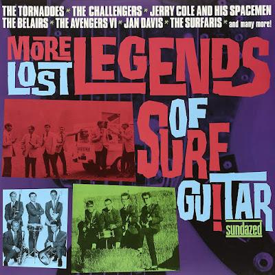 V.A. - Lost Legends Of Surf Guitar 4CD