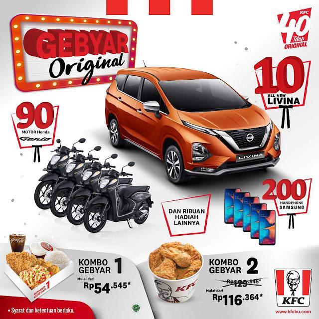 #KFC - #Promo Hadiah Spektakuler di Gebyar Original Ultah KFC 2019 (s.d 31 Des 2019)