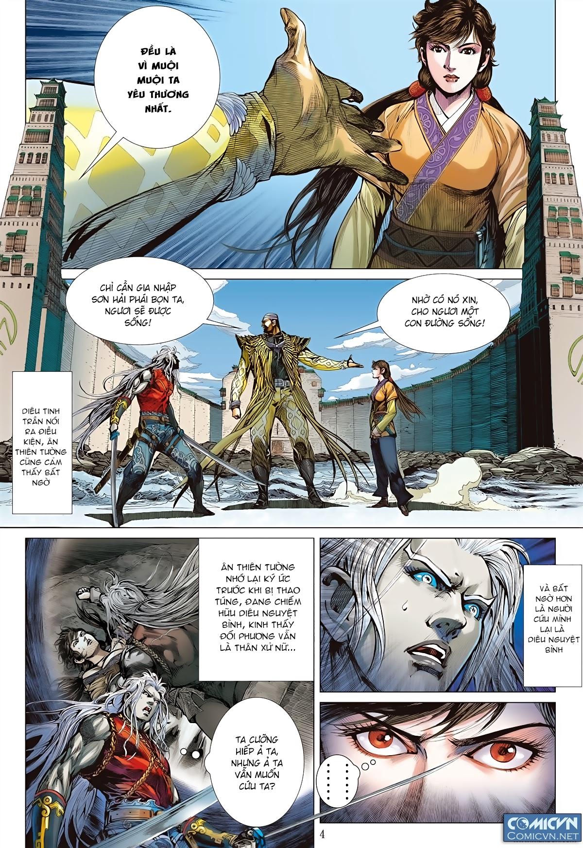 Sơn Hải Nghịch Chiến Chap 77 - Trang 4